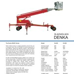 Denka 82 and 92 brochure